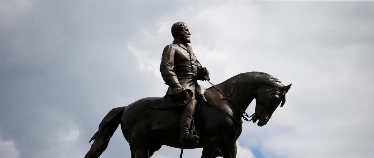The statue of Confederate General Robert E. Lee in Richmond, Virginia, U.S., September 16, 2017. REUTERS/Joshua Roberts