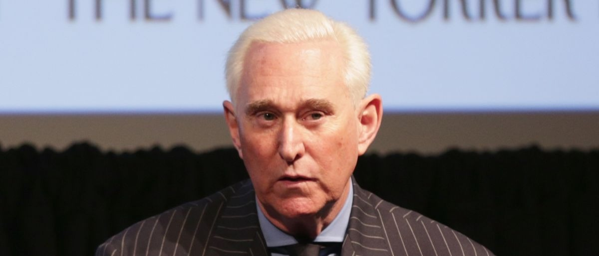 Roger Stone Getty Images/Anna Webber