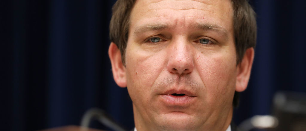 Ron DeSantis (R-FL) delivers remarks during a hearing in the Rayburn House Office Building on Capitol Hill April 12, 2018 in Washington, DC. (Photo by Chip Somodevilla/Getty Images)