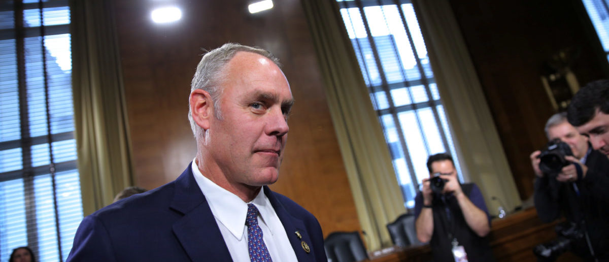 U.S. Representative Ryan Zinke (R-MT), a former Navy SEAL commander, arrives to testify before a Senate Energy and Natural Resources Committee confirmation hearing on his nomination to be Interior Secretary at Capitol Hill in Washington, U.S., January 17, 2017. REUTERS/Carlos Barria | Dems Shift Sights From Pruitt To Zinke