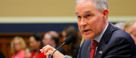 Pruitt Addresses Critics In House Hearing: 'Let's Have No Illusions As To What's Going On Here'