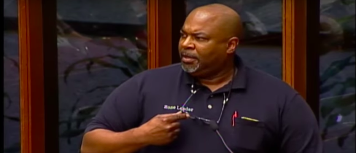 A black gun owner slammed those who would want to restrict guns from law-abiding citizens during a Tuesday city council meeting on how to combat gun violence. (Greensboro resident/ YouTube Screenshot)