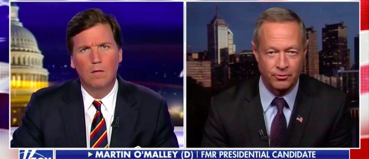 Tucker Fact-Checks O'Malley | The Daily Caller