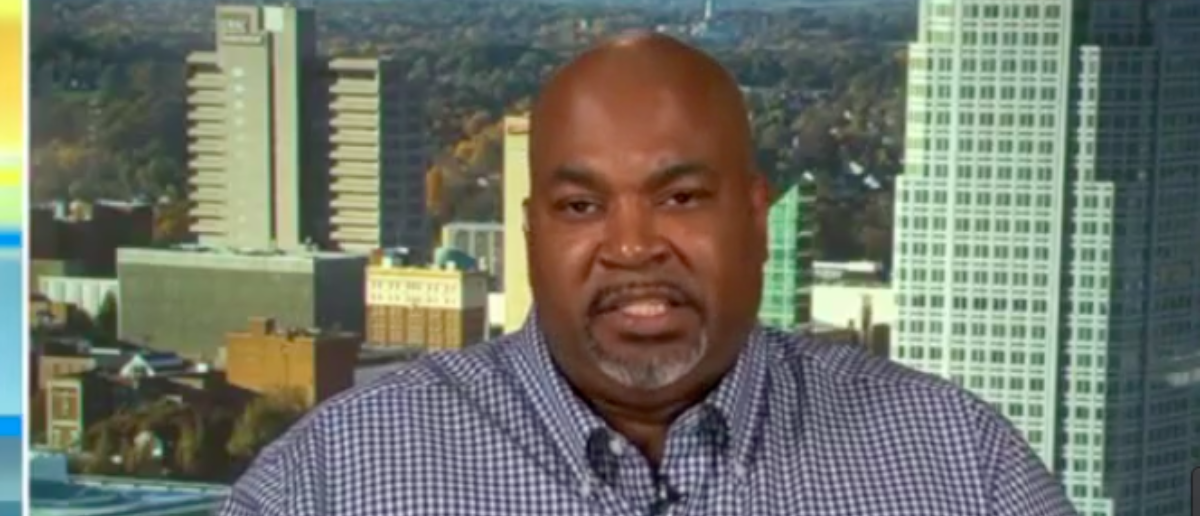 """It's far past time for politicians to start paying attention to the """"silent middle"""" and stop overlooking them, a black gun advocate said during a Friday news segment. (Photo: Mark Robinson/Fox & Friends Screenshot)"""
