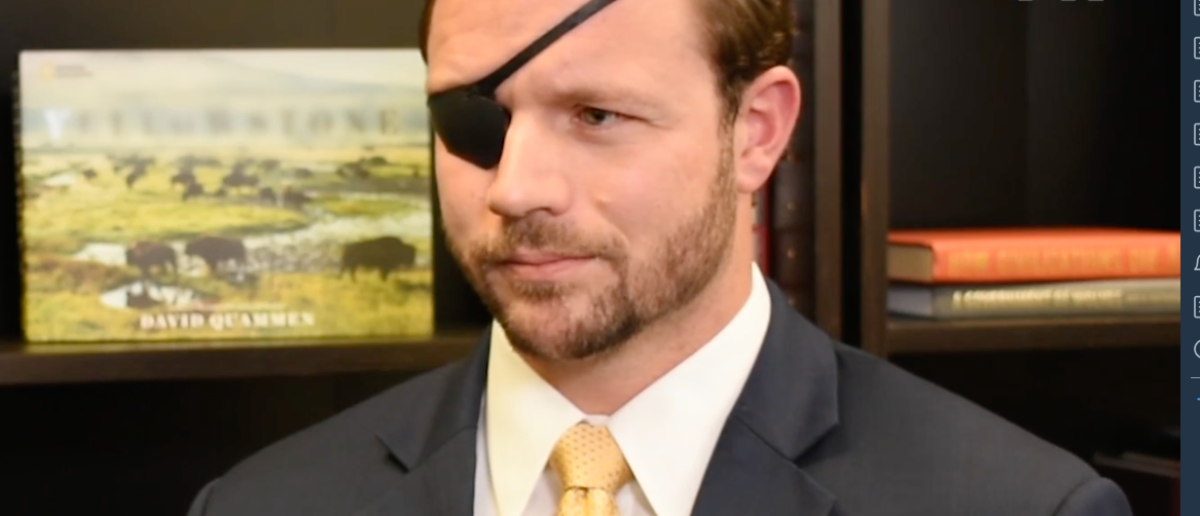 Dan Crenshaw With TheDCNF (Screengrab/Youtube)