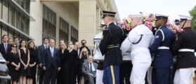 George W. Bush Shared A Photo Of His Mom's Casket — His 7 Word Caption Will Crush You