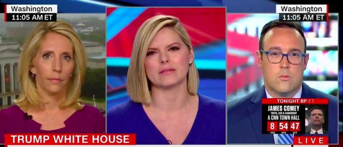 Screen Shot Chris Cillizza (CNN: April 25, 2018)