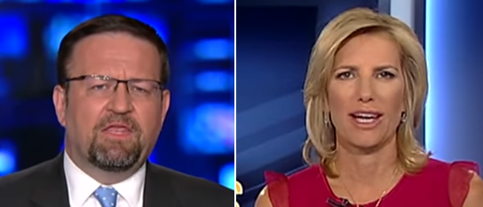 Sebastian Gorka Laura Ingraham (Fox News screenshot)