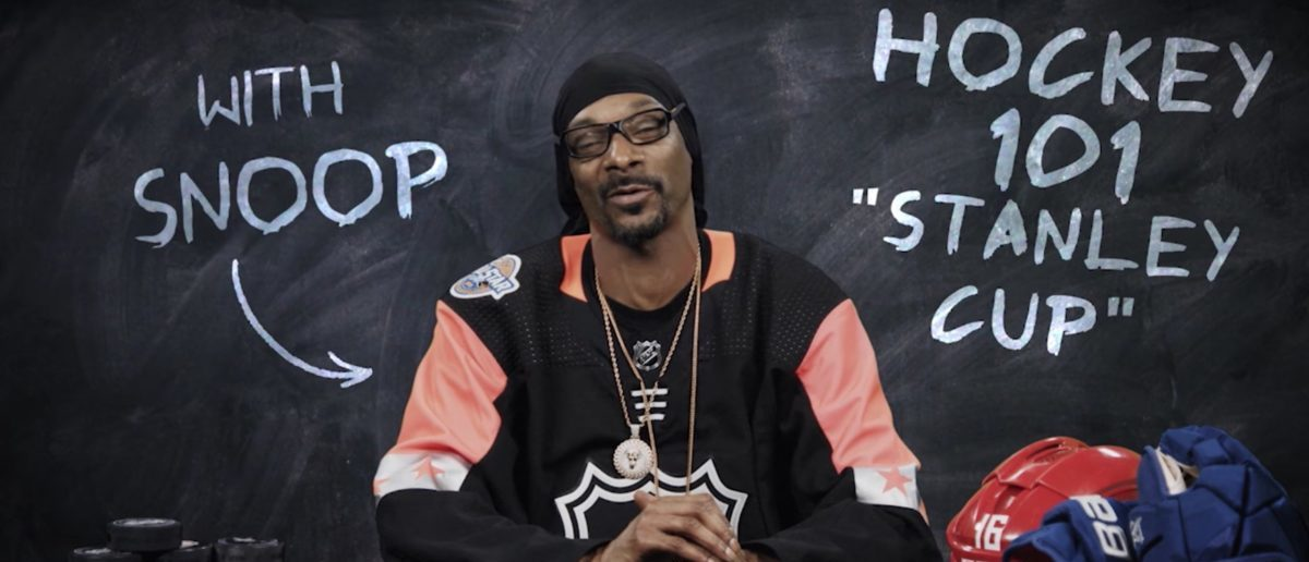 Snoop Dogg (Credit: Screenshot/YouTube NHL)