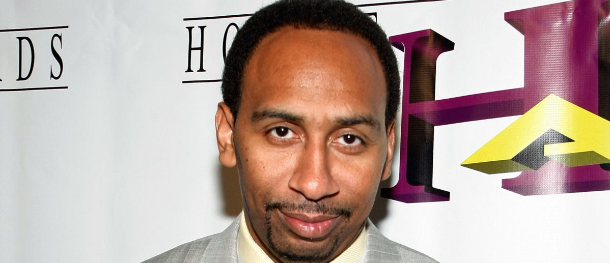 LAS VEGAS - AUGUST 15: Sportswriter and media personality Stephen A. Smith arrives at the seventh annual Hoodie Awards at the Mandalay Bay Events Center August 15, 2009 in Las Vegas, Nevada. (Photo by Ethan Miller/Getty Images)