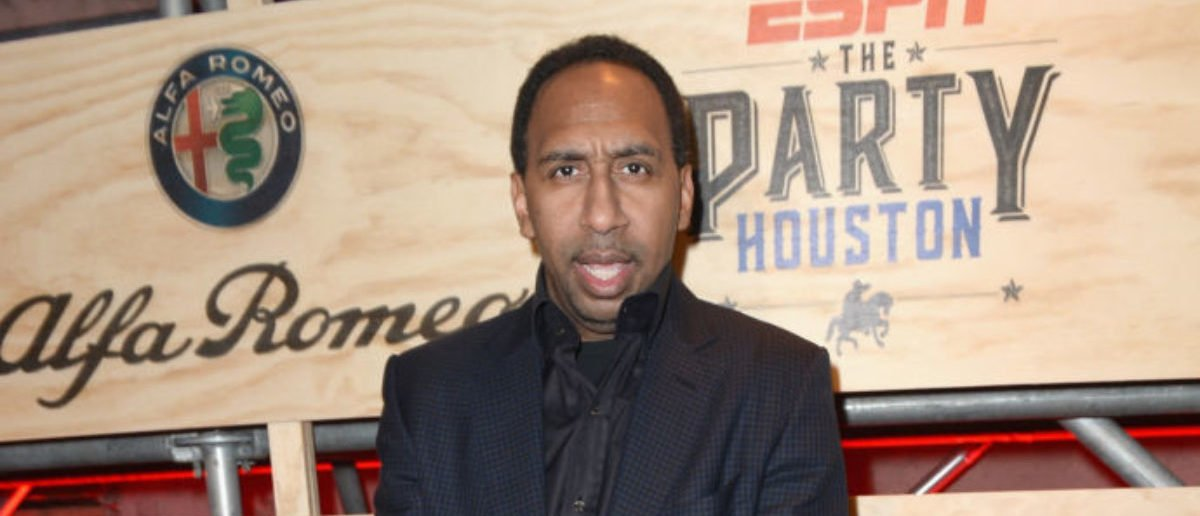 HOUSTON, TX - FEBRUARY 03: ESPN commentator Stephen A. Smith attends the 13th Annual ESPN The Party on February 3, 2017 in Houston, Texas. (Photo by Gustavo Caballero/Getty Images for ESPN)