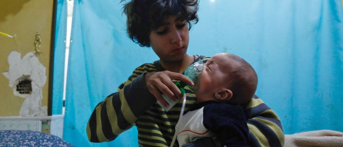 Syria gas attack Getty Images/Hasan Mohamed