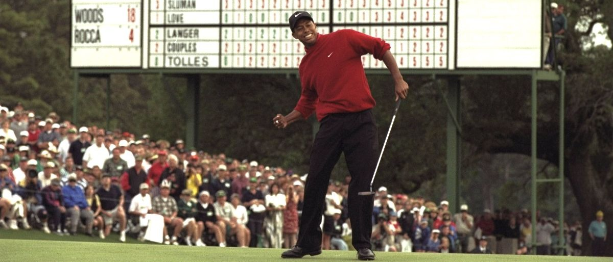 Tiger Woods Getty Images/Allsport/Stephen Munday