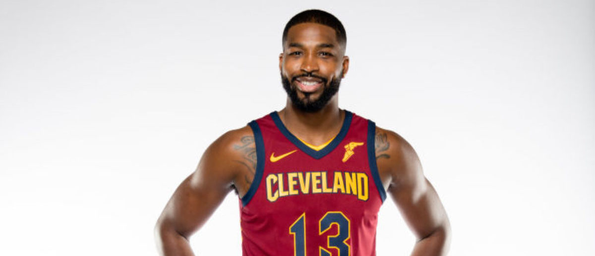INDEPENDENCE, OH - SEPTEMBER 25: Tristan Thompson #13 of the Cleveland Cavaliers poses during media day at Cleveland Clinic Courts on September 25, 2017 in Independence, Ohio. NOTE TO USER: User expressly acknowledges and agrees that, by downloading and/or using this photograph, user is consenting to the terms and conditions of the Getty Images License Agreement. (Photo by Jason Miller/Getty Images)