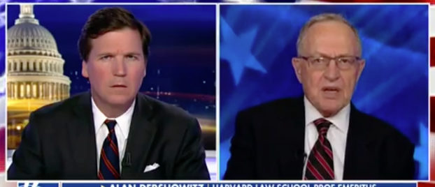 Tucker Dersh Fox News screenshot