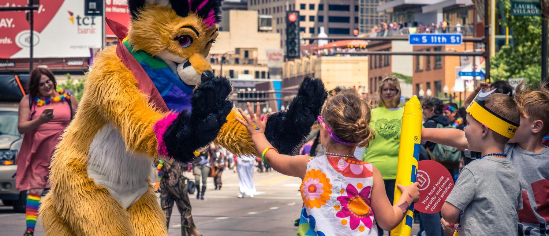 MINNEAPOLIS, MINNESOTA, USA - June 25 2017 - Twin Cities Pride Celebration   NSF Awards $1 Million To Study Trans Kids
