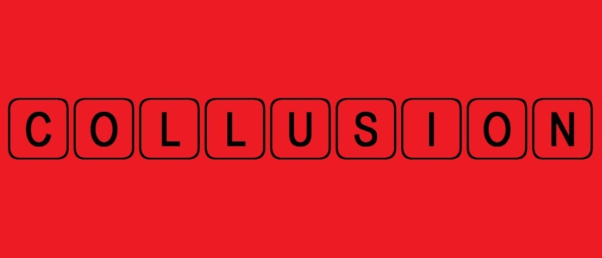 collusion Collusion, secret agreement and cooperation between interested parties for a purpose that is fraudulent, deceitful, or illegal an example of illegal collusion is a secret agreement between firms to fix pricessuch agreements may be reached in a completely informal fashion.