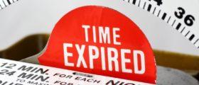 expired time meter Shutterstock/Aperture51