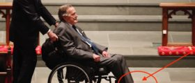 Here's How George H.W. Bush Secretly Honored His Wife Barbara For One Last Time At Her Funeral