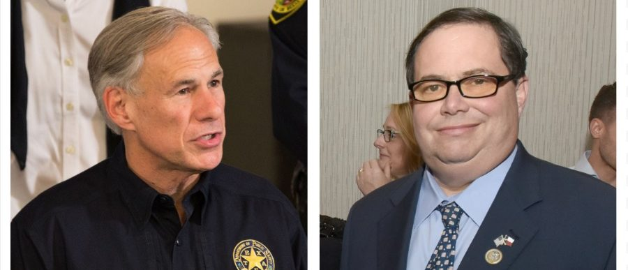 Greg Abbott, Blake Farenthold (Getty Images)