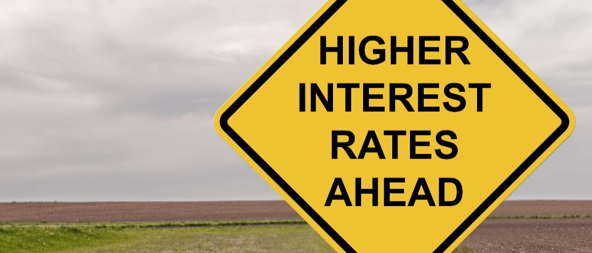 higher interest rates Shutterstock/Jim Vallee