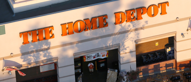 A Home Depot store exterior (Photo: Reuters/Lucy Nicholson)   Dallas Cops Shot While Serving Warrant