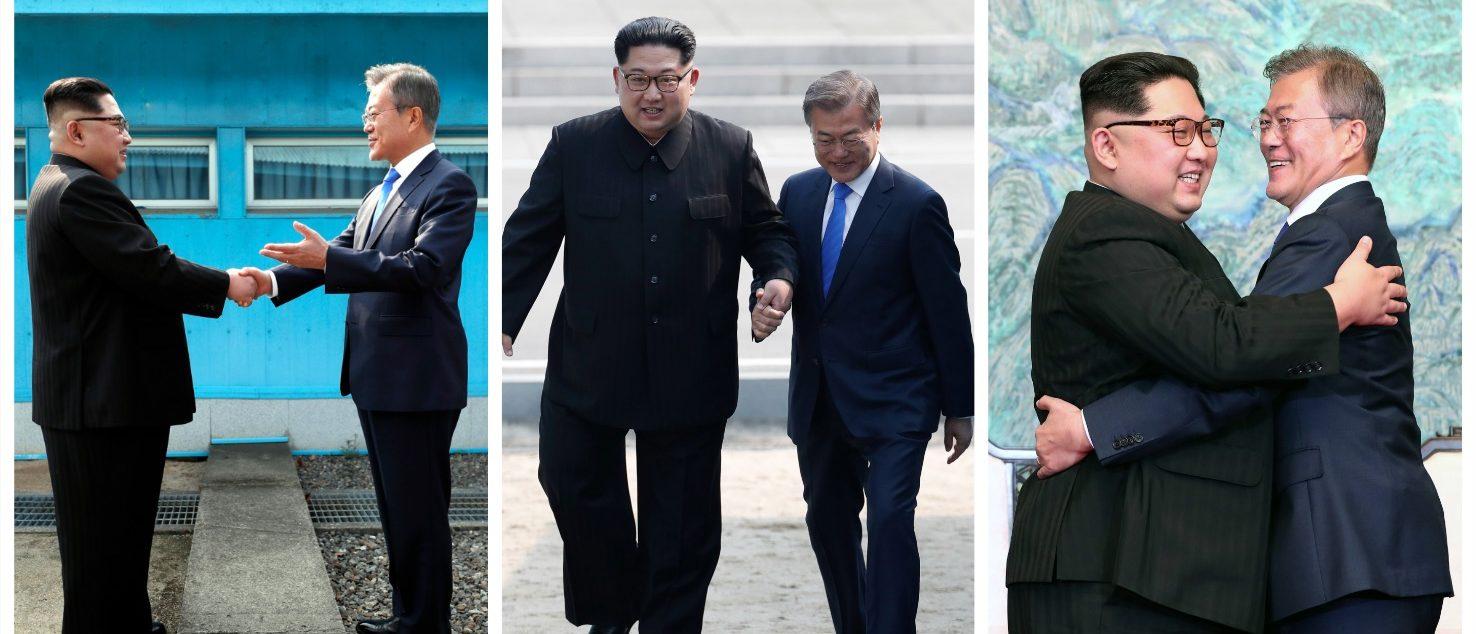 Kim Jong Un, Moon Jae-in (Getty Images)