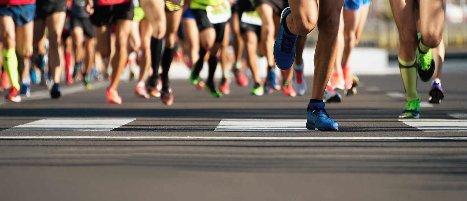 Runners competing in an event (Photo: Shutterstock/Pavel1964)