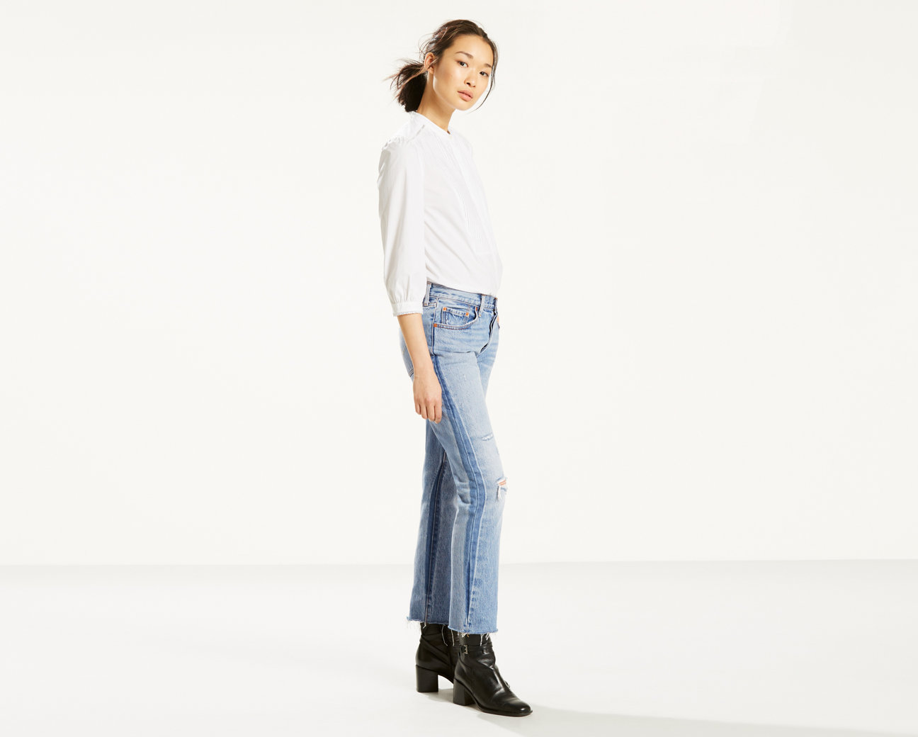 Normally $98, these jeans are 44 percent off (Photo via Levi's)