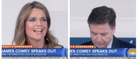 Savannah Guthrie Holds Comey's Feet To The Fire: 'You're Shorter In Person'