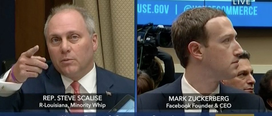 Steve Scalise, Mark Zuckerberg (CSPAN 3)