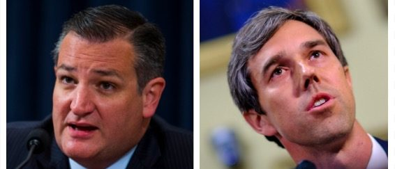 Ted Cruz, Beto O'Rourke (Getty Images)