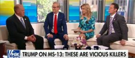 Acting ICE Director Tom Homan Defends Trump's 'Animals' Comment By Slamming MS-13 - Fox & Friends 5-24-18