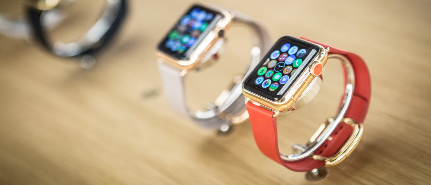 Apple Watch is now available in seven more countries (Italy, Mexico, Singapore, South Korea, Spain, Switzerland and Taiwan.) on June 26, 2015 in Madrid, Spain. (Photo by Pablo Cuadra/Getty Images for Apple) | Apple Watch Saves Recktenwald's Life