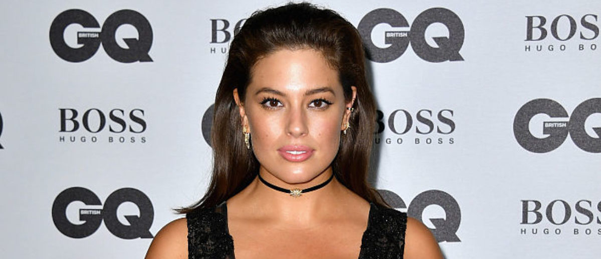 LONDON, ENGLAND - SEPTEMBER 06: Ashley Graham arrives for GQ Men Of The Year Awards 2016 at Tate Modern on September 6, 2016 in London, England. (Photo by Gareth Cattermole/Getty Images)
