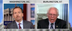Bernie Sanders Gets Angry About The NRA, Shouts At Chuck Todd