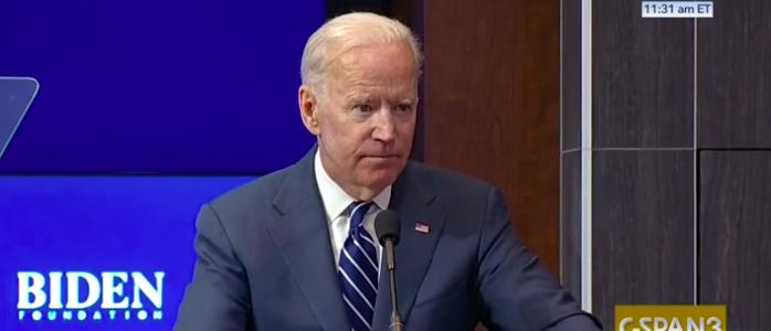 Former Vice President Joe Biden Screenshot CSPAN