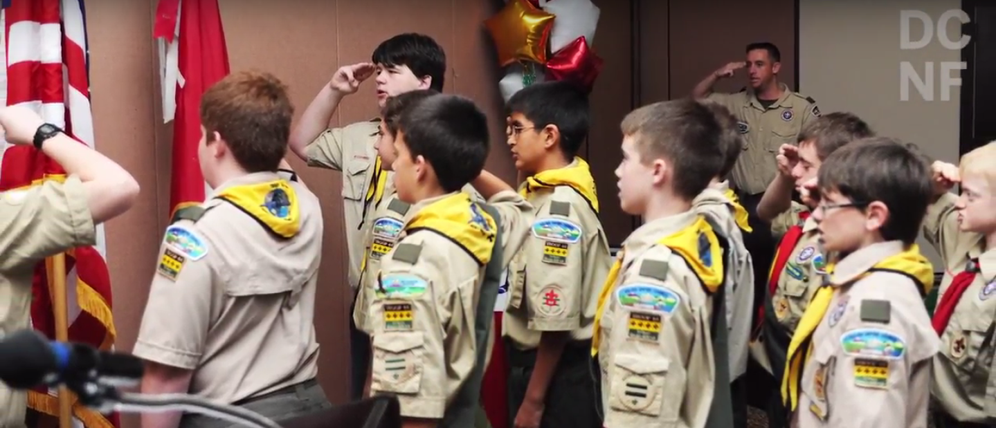 Boy Scouts (Screenshot/YouTube/DCNF) | Boy Scouts' March To Inclusivity Is Over