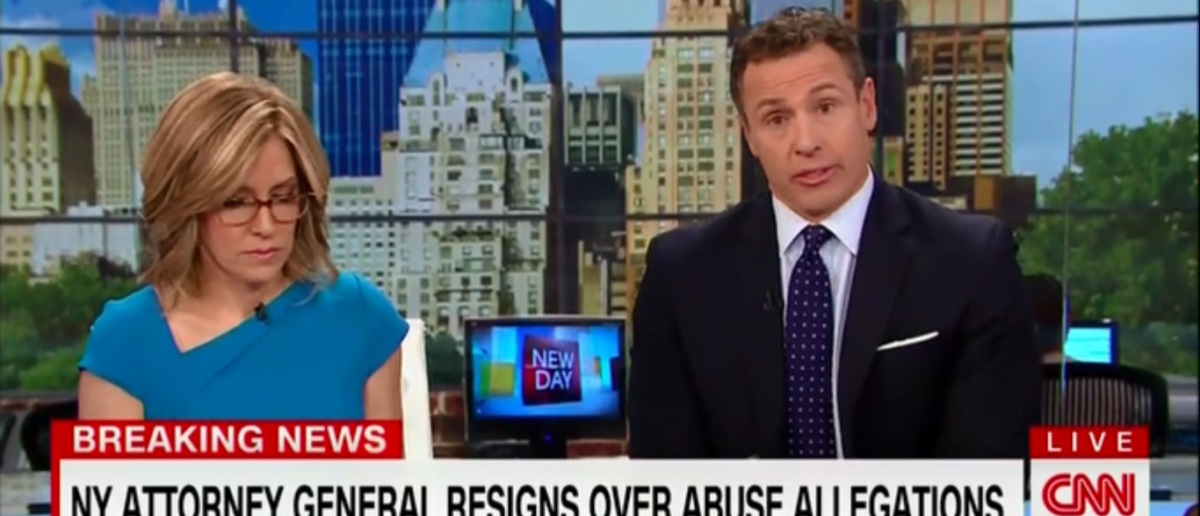 CNN's 'New Day' Does All It Can To Pivot Away From NY AG Eric Schneiderman - 5-8-18