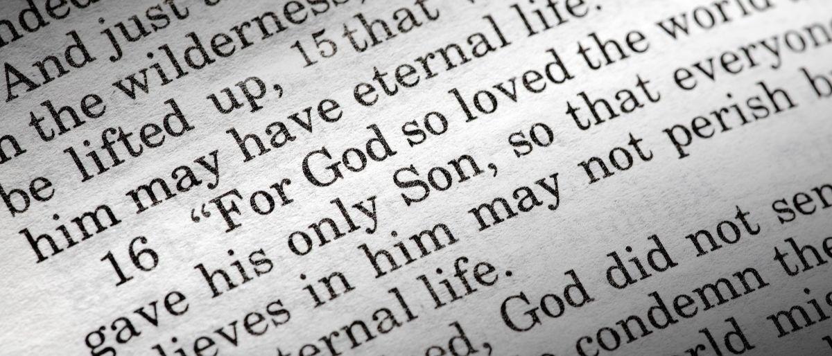 For God so loved the world Shutterstock/Tyler Olson