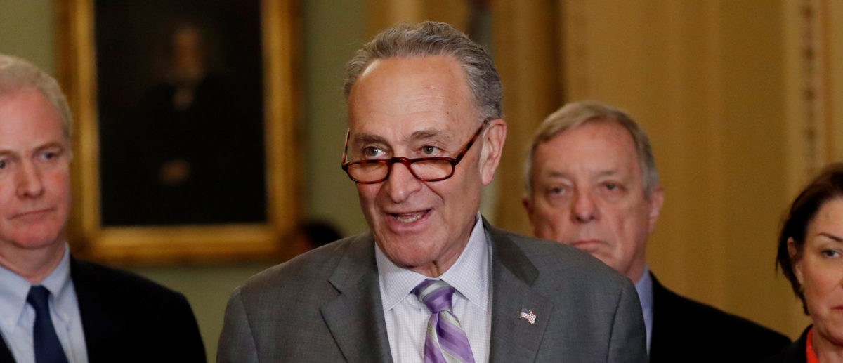 Schumer: 'The President And His Associates Have ... Lied'