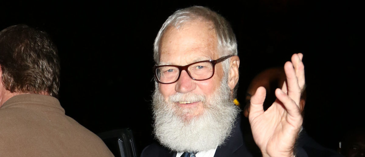 David Letterman sighting on October 7, 2016, in New York City -- ShutterStock -- JStone