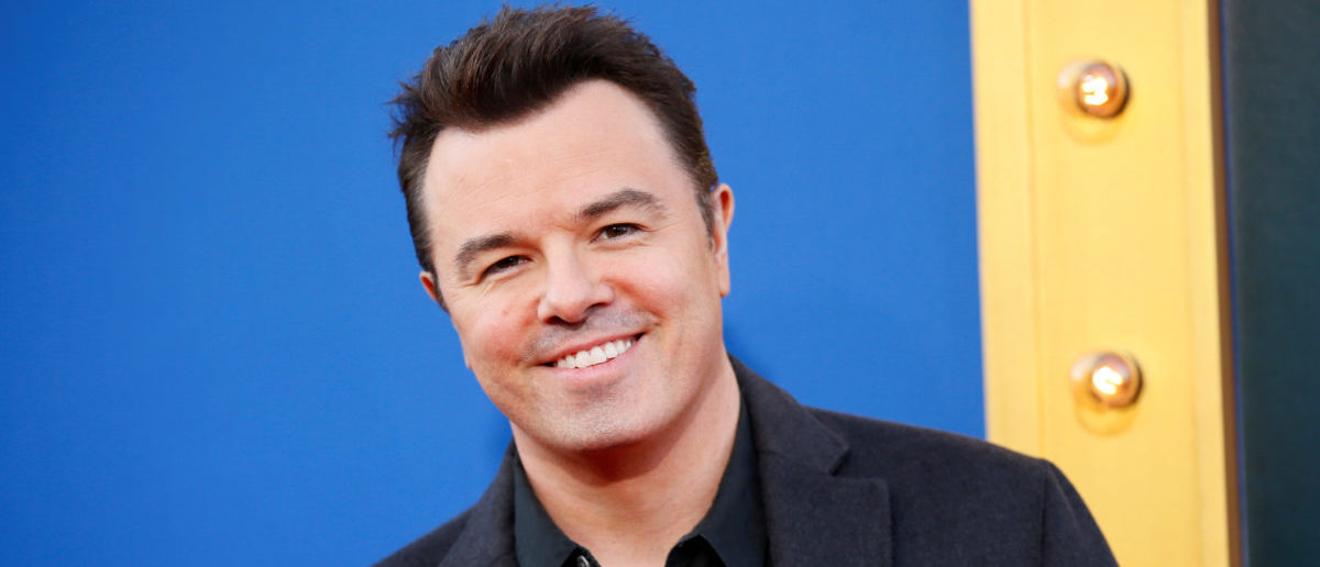 """Actor Seth MacFarlane poses at the world premiere of the film """"Sing"""" in Los Angeles, California, December 3, 2016. REUTERS/Danny Moloshok 