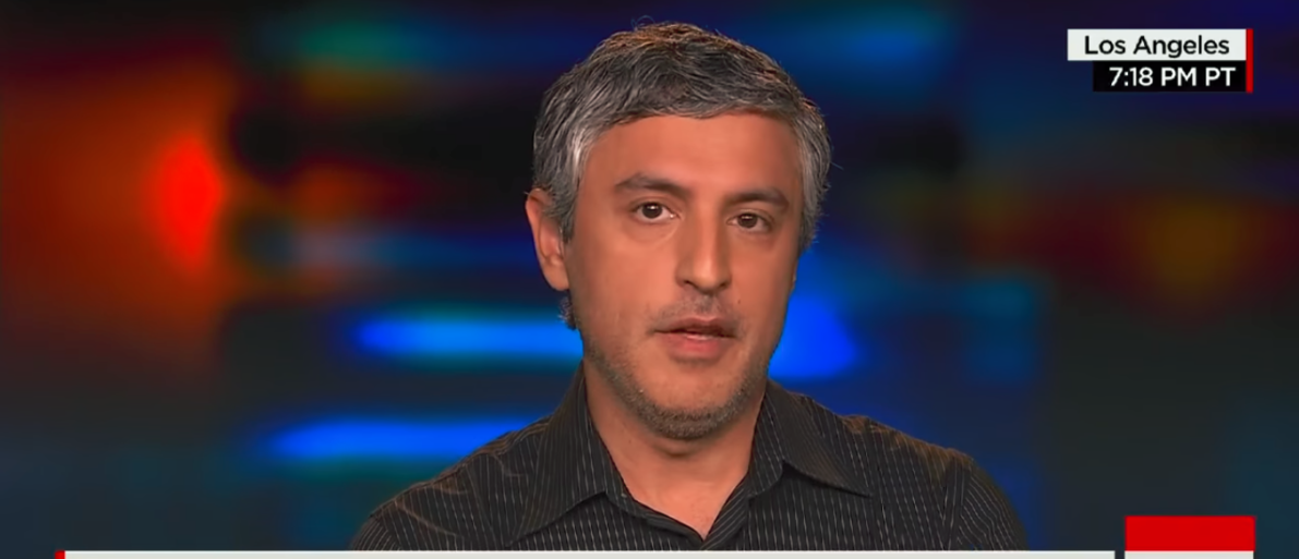 Former CNN Host Reza Aslan YouTube Screenshot -- CNN | Fired CNN Host Calls Trump Enemy Of State