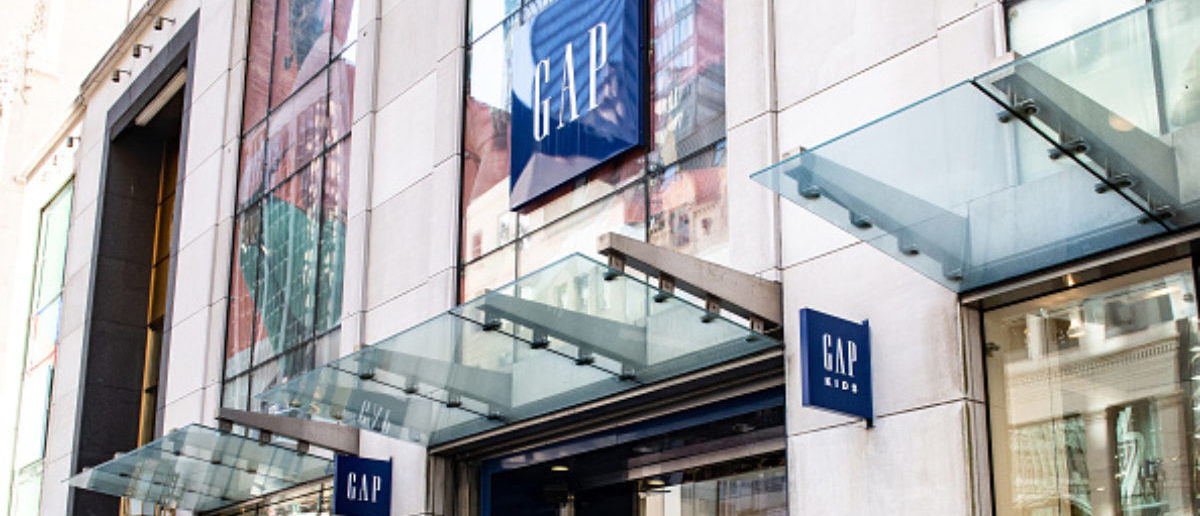 NEW YORK, NY, UNITED STATES - 2018/04/22: Gap store on Fifth Avenue in New York City. (Photo by Michael Brochstein/SOPA Images/LightRocket via Getty Images)