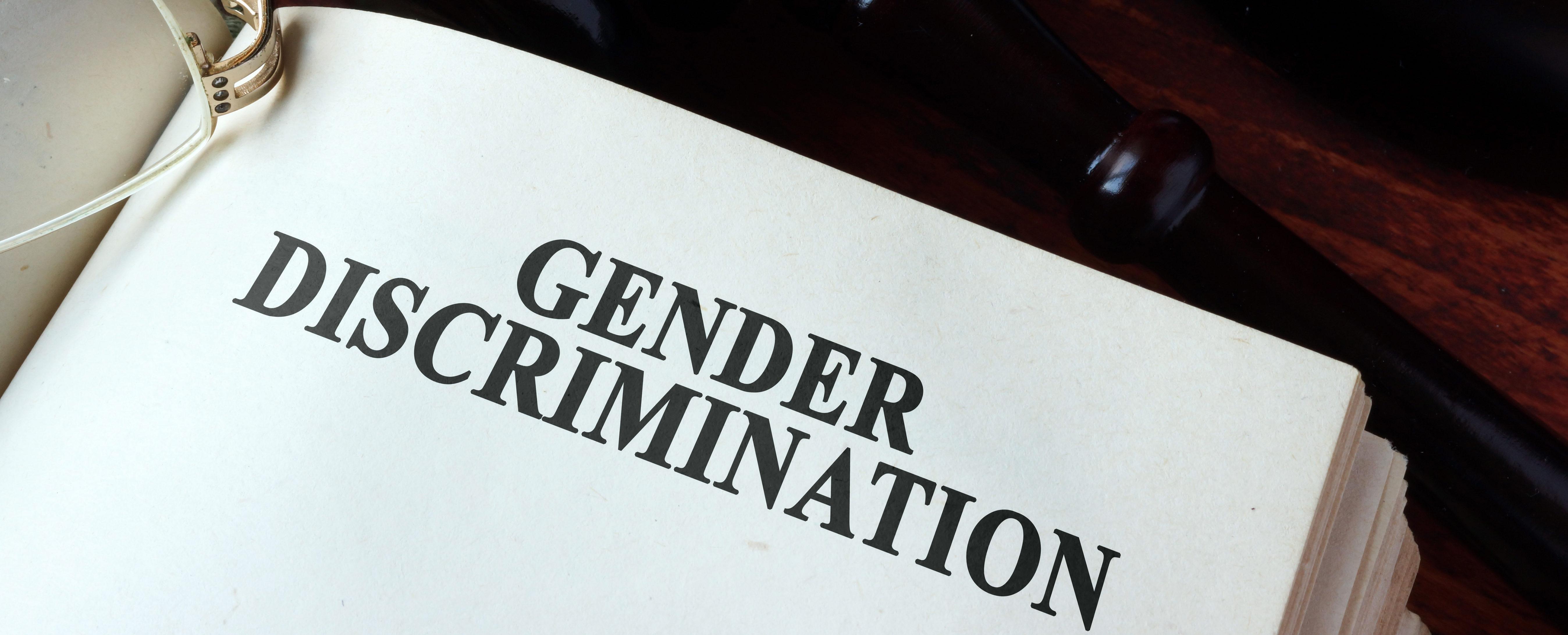 Gender discrimation with gavel (Shutterstock/designer491)
