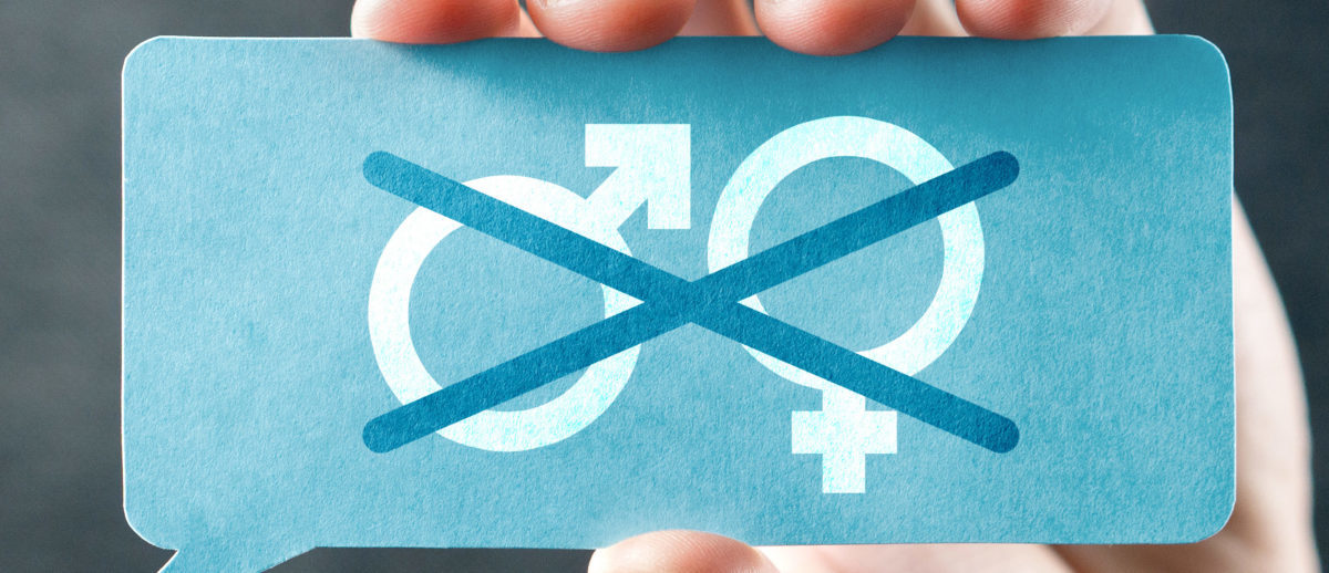Gender neutral sign (Shutterstock/Tero Vesalainan)