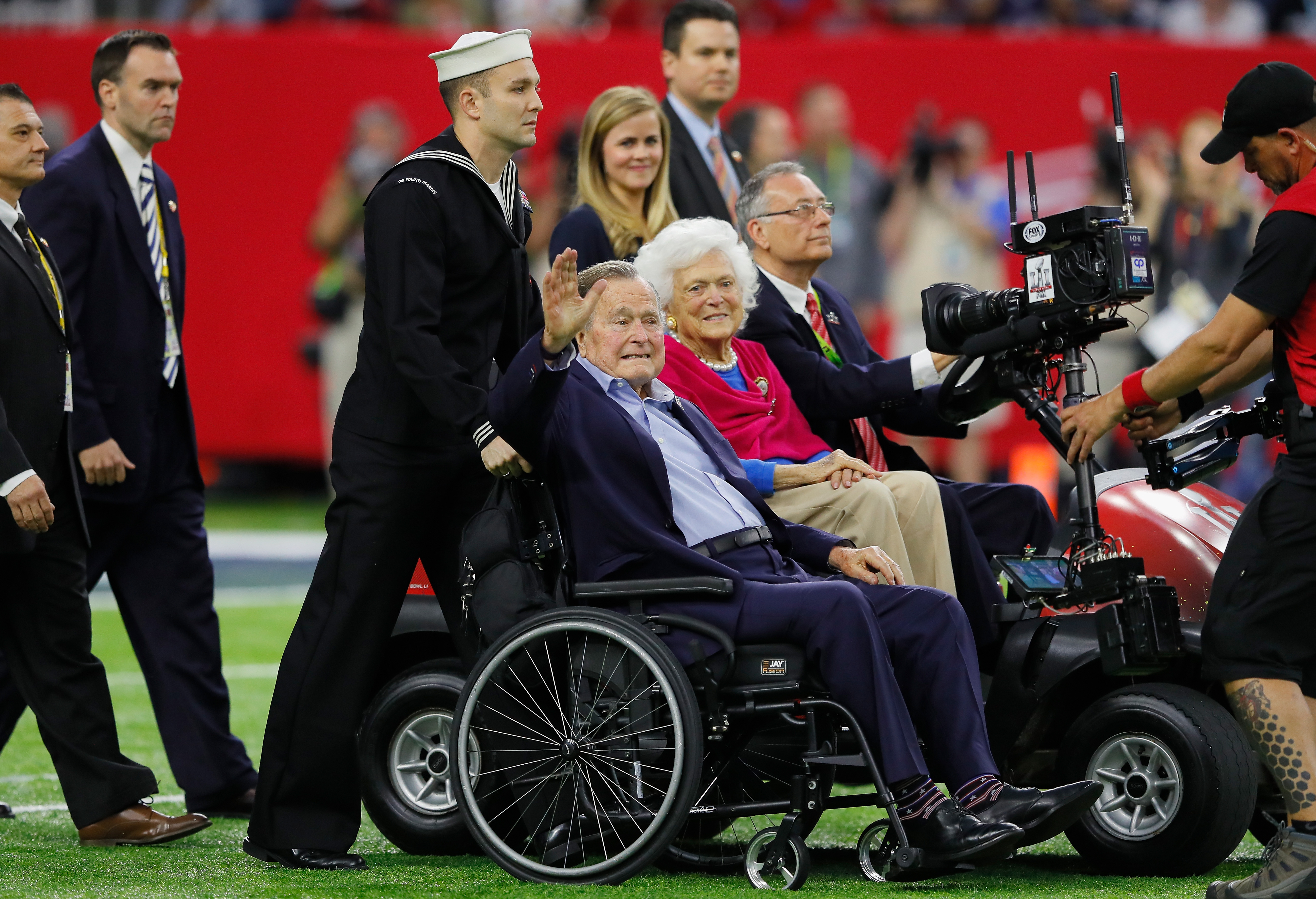 Houston Methodist honors Barbara and George HW Bush