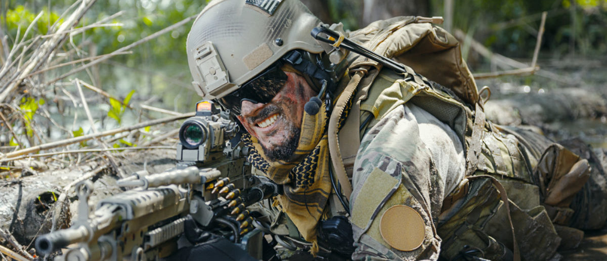 Green Beret in action (SHUTTERSTOCK: By Getmilitaryphotos)