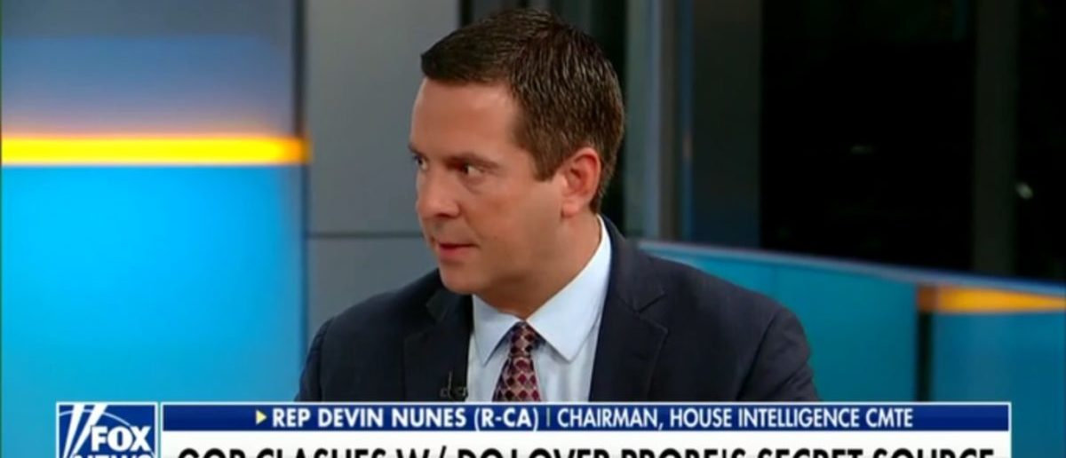 House Intel Chair Devin Nunes Thinks Trump Campaign May Have Been Setup, Predicts Embarrassing Outcome For FBI And DOJ - Fox & Friends 5-15-18